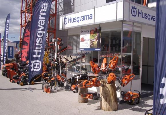 Husqvarna Пловдив представя моторни триони, дискови резачки, косачки, снегорини на изложението в Пловдив